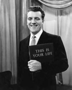 This Is Your Life with Eamon Andrews - Let's not forget the time he tried to nab Danny Blanchflower the Tottenham player, who actually told Eamon to Off and ran way. 1970s Childhood, My Childhood Memories, School Memories, V Drama, The Lone Ranger, This Is Your Life, Television Program, Old Tv Shows, Vintage Tv