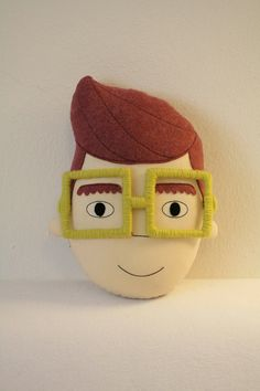pillow face - ROMEO  via Etsy.
