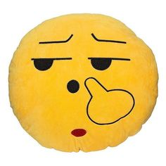 Funny Cute emoji pillow plush pillow coussin cojines emoji gato Round Cushion emoticonos smiley Pillows Stuffed Plush almofada
