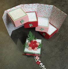 Tutoriel boîte à secrets Framelits Paysagiste par Marie Meyer Stampin up - http://ateliers-scrapbooking.fr/ - Botanical Builder Framelits -Framelits Pflanzen-Potpourri