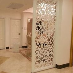 European custom hollow carved panels off the porch off the living room big surprise ordering hollow partition wall partition