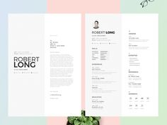 70 Creative & Beautiful Resume Examples to Get Inspired - Hipsthetic Cv Unique, Unique Resume, Modern Resume, Best Free Resume Templates, Free Resume Examples, Resume Ideas, Cv Template, Resume Folder, Resume Cv