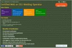 Certified MAG or CO2 Welding Operator