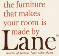 We take a look at a rare 11-page catalog for the vintage Lane Acclaim line -- 48 pieces of this classic vintage furniture line in all!