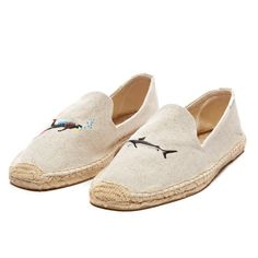 b2081abd378e Smoking Slipper Embroidery - Diver and Shark!