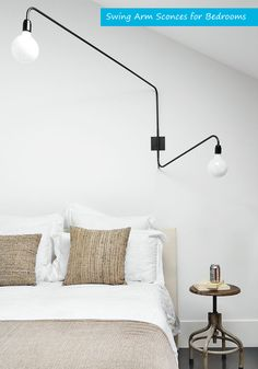 Super sexy swing arm lamps | Design Lovers Blog