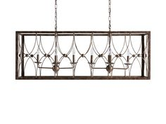 Sardinia Rectangle Chandelier | Arhaus Furniture