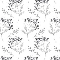 Elderberry pattern designed for The post Free printable Christmas gift tags appeared first on Aktuelle. Free Printable Christmas Gift Tags, Flower Line Drawings, Floral Drawing, Flower Doodles, Botanical Drawings, Motif Floral, Floral Illustrations, Doodle Art, Flower Patterns