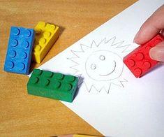 LEGO Brick Erasers
