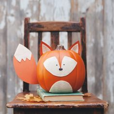 Fox pumpkin