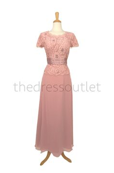 Dusty Rose Elegant Mother of the Bride Plus by TheDressOutlets