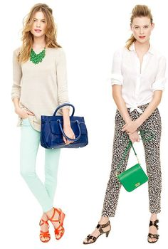 Corporate casual outfit ideas for spring and summer