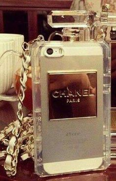 Authentic chanel perfume iphone 5 case