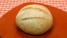 Receta fácil de pan campesino