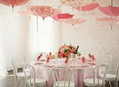 {very pink baby shower}