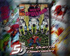 WEB OF SPIDER-MAN # 98 DE 1993. $ 50.00 Para más información, contáctanos en http://www.facebook.com/la5aDimension