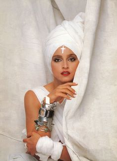this only makes me want to find a turban even more. i can do without the cross on the forehead