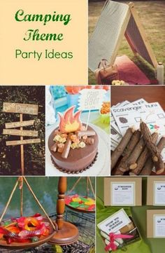 parties make it party themes camps