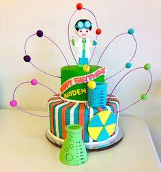 cute Science Cake