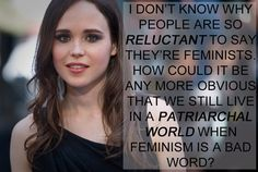 Ellen Page. | 17 Celebrities Who Have The Right Idea About Feminism