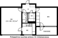 Kiillekuja, Pihlajamäki, Helsinki, 2h+k 57,5 m², SATO vuokra-asunto