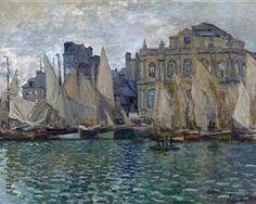 View of Le Havre - Claude Monet
