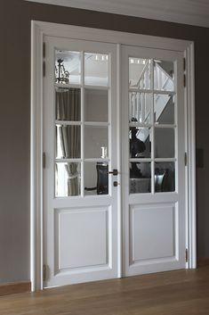 Consider this vital illustration in order to look at today suggestions on french doors modern Door Design Interior, Home Room Design, Design Your Home, Interior Barn Doors, Modern House Design, Indoor Doors, French Doors Patio, Room Doors, Internal Doors