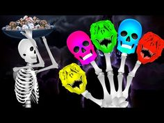 Skeleton And Dinosaur Finger Family | Dinosaur Colors Learning Song | Funny Colors Skeleton Rhymes - YouTube