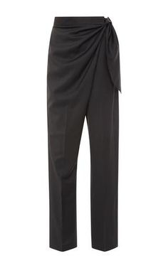 Draped side-tie pants by J.W. ANDERSON Now Available on Moda Operandi
