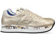 Bronzen/Gouden Premiata schoenen Conny sneakers