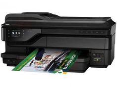 """e-Multifuncional HP Officejet 7612e-All-in-One - Jato de Tinta Colorida LCD 2,65"""" Wi-Fi USB"""