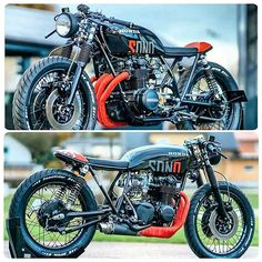 Honda CB550 by @nctmotorcycles