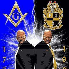 Best of Both Worlds- Mason/Alpha Alpha Phi Alpha, Masonic Symbols, Freemasonry, Sorority And Fraternity, Knights Templar, Greek Life, History Facts, Frozen, Africa