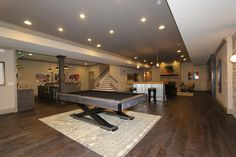"Clayton Douglas Homearama 2014 home ""Bella Noelle"" Additional Photo of the Recreation Room"