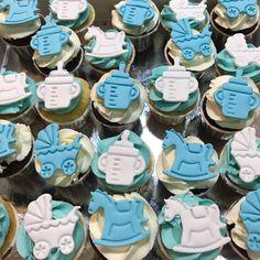 Cupcakes bebé. Cupcakes, Sugar, Cookies, Desserts, Food, Stuff Stuff, Beverage, Crack Crackers, Tailgate Desserts