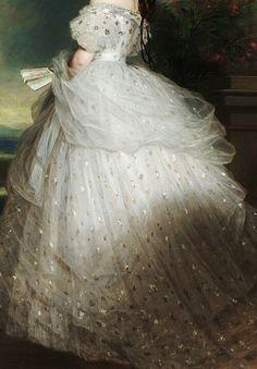 Titre de l'image : Franz Xaver Winterhalter - Impératrice Elisabeth d'Autriche (Sissi)
