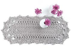 Doilies Updated - Creative choices in colors and weights of thread or yarn are helping crochet doilies leap from old-fashioned status to ultra-modern home décor. Doilies Updated from Leisure Arts presents a variety of shapes and sizes to crochet, plus modern ways to showcase them. Made in supplies ranging from size 10 bedspread weight cotton to super bulky yarn, projects include a rug, chair pad, pillow, table runner, valance, sun catcher, banner, mandala tote, and more. Designs include…