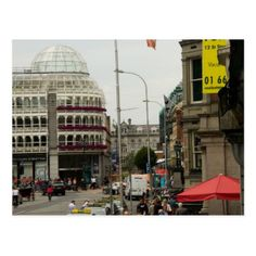 Grafton Street Dublin Ireland Postcard - diy cyo & personalize