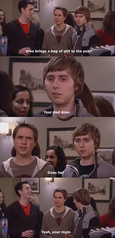"27 Of The Funniest, Most Hilarious Quotes From ""The Inbetweeners"" Comedy Quotes, Comedy Tv, Tv Show Quotes, Film Quotes, British Humor, British Comedy, English Comedy, Inbetweeners Quotes, Hilarious Quotes"