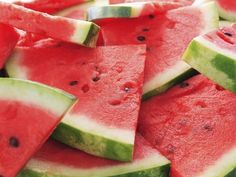 Sweet delicious watermelon.