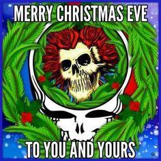Merry Christmas Eve, Xmas, Bob Dylan Poster, Grateful Dead Poster, Dance Like No One Is Watching, Skull Wallpaper, Forever Grateful, Christmas Images, Skull Art