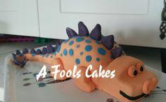 RAWR!! #dinosaur #afoolscakes