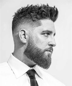 Small and short beard styles make men appearance more attractive, especially men with short hair. Here are the top 15 small and short beard styles that suit for every age. Beard Styles For Men, Hair And Beard Styles, Short Hair Styles, Men Hair Styles, Medium Beard Styles, Faded Beard Styles, Cool Haircuts, Haircuts For Men, Men's Haircuts Fade
