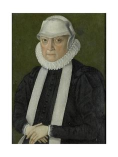 Art Print: Portrait of a Woman, Probably Anna Jagellonia, Queen of Poland, Possibly : 24x18in
