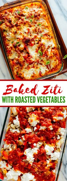 This stunning heated ziti formula is helped up with cooked vegetables. Brilliant mozzarella, sizzling red sauce and delicate pasta make this veggie lover ziti excessively scrumptious! Baked Ziti Vegetarian, Vegetable Baked Ziti, Roasted Vegetable Pasta, Baked Vegetables, Vegetarian Recipes, Vegetarian Stew, Veggie Recipes, Delicious Recipes, Free Recipes