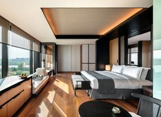 THE LALU NANJING: See Hotel Reviews, Price Comparison and 148 Photos (China) - Tripadvisor Bvlgari Hotel, Hotel Sheets, Bedroom False Ceiling Design, Hotel Room Design, Master Room, Nanjing, Hotel Interiors, Modern Architecture House, Cottage Design