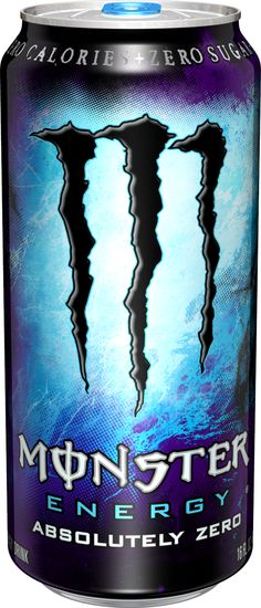 Monster Energy Absolutely Zero... This one is in my Work-Survival Kit!