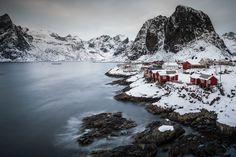 The classic view to Hamnøy, Lofoten / Norway.
