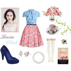 #1 Estilo Louisa Clark by gabbyfaustino on Polyvore featuring ERIN Erin…