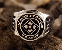 388969fa511 4th Infantry Division Ring Us Army
